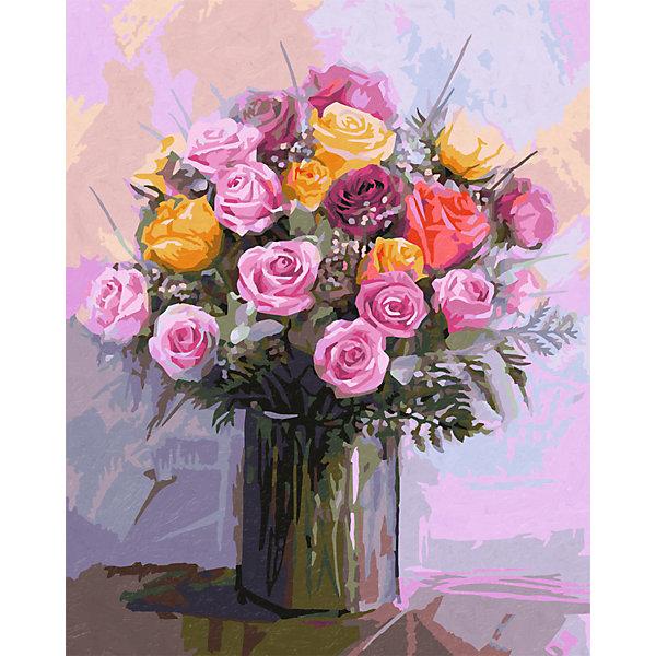 Schipper Картина по номерам Schipper Букет роз, 40х50 см