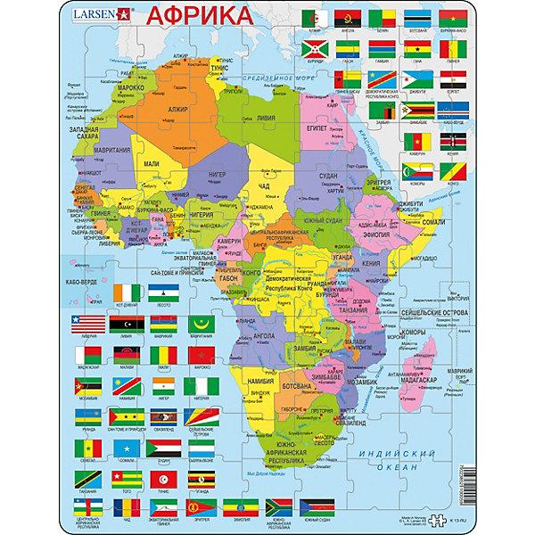 Larsen Пазл Larsen Африка, 70 деталей