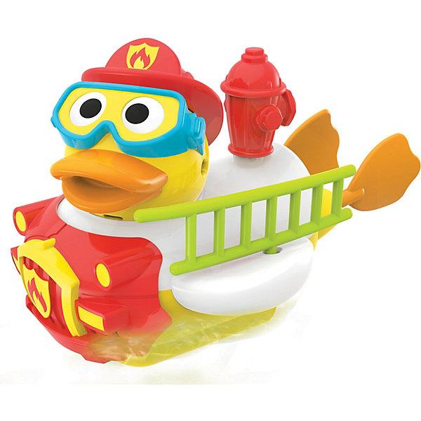 Купить Водная игрушка Yookidoo Утка-пожарный , с водометом и аксессуарами, Китай, Унисекс