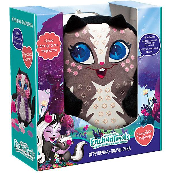 Купить Набор для творчества Origami Enchantimals Узоры из плюша Скунсенок Кейпер , Россия, разноцветный, Женский