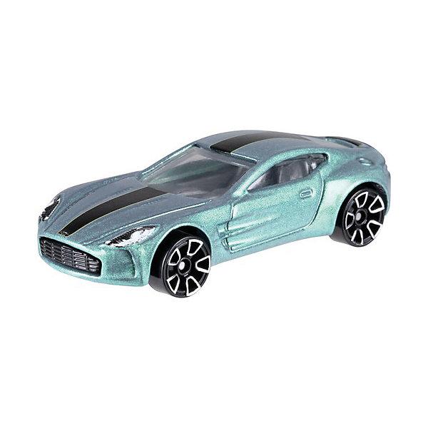 Купить Базовая машинка Hot Wheels, Aston Martin ONE-77, Mattel, Китай, Мужской