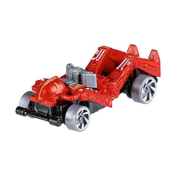 Базовая машинка Hot Wheels, ZombotМашинки<br>Характеристики:<br><br>• возраст: от 3 лет;<br>• материал: металл, пластмасса;<br>• вес упаковки: 30 гр.;<br>• размер упаковки: 11х4х11 см;<br>• тип упаковки: блистерный;<br>• страна бренда: США.<br><br>Машинка Hot Wheels от Mattel входит в группу моделей базовой коллекции. Миниатюры этой серии изображают реальные автомобили, спорткары, фургоны, мотоциклы в масштабе 1:64, а также модели с собственным оригинальным дизайном. Собрав свою линейку машинок, ребенок сможет устраивать заезды, гонки и меняться экземплярами с друзьями.<br><br>Монолитные элементы игрушки увеличивают ее прочность. Падение и столкновение с твердыми предметами во время игр не отражается на внешнем виде и ходе машинки. Кузов отчетливо детализирован, покрыт стойкими насыщенными красками. Колеса легко крутятся вокруг своей оси.<br><br>Игрушка выполнена из качественных материалов, сертифицированных по стандартам безопасности для использования детьми.