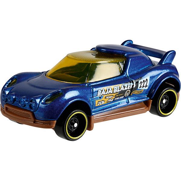 Базовая машинка Hot Wheels, Hi-BeamМашинки Hot wheels<br>Характеристики:<br><br>• возраст: от 3 лет;<br>• материал: металл, пластмасса;<br>• вес упаковки: 30 гр.;<br>• размер упаковки: 11х4х11 см;<br>• тип упаковки: блистерный;<br>• страна бренда: США.<br><br>Машинка Hot Wheels от Mattel входит в группу моделей базовой коллекции. Миниатюры этой серии изображают реальные автомобили, спорткары, фургоны, мотоциклы в масштабе 1:64, а также модели с собственным оригинальным дизайном. Собрав свою линейку машинок, ребенок сможет устраивать заезды, гонки и меняться экземплярами с друзьями.<br><br>Монолитные элементы игрушки увеличивают ее прочность. Падение и столкновение с твердыми предметами во время игр не отражается на внешнем виде и ходе машинки. Кузов отчетливо детализирован, покрыт стойкими насыщенными красками. Колеса легко крутятся вокруг своей оси.<br><br>Игрушка выполнена из качественных материалов, сертифицированных по стандартам безопасности для использования детьми.