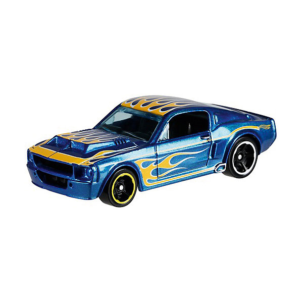 Базовая машинка Hot Wheels, 67 Shelby GT-500Машинки Hot wheels<br>Характеристики:<br><br>• возраст: от 3 лет;<br>• материал: металл, пластмасса;<br>• вес упаковки: 30 гр.;<br>• размер упаковки: 11х4х11 см;<br>• тип упаковки: блистерный;<br>• страна бренда: США.<br><br>Машинка Hot Wheels от Mattel входит в группу моделей базовой коллекции. Миниатюры этой серии изображают реальные автомобили, спорткары, фургоны, мотоциклы в масштабе 1:64, а также модели с собственным оригинальным дизайном. Собрав свою линейку машинок, ребенок сможет устраивать заезды, гонки и меняться экземплярами с друзьями.<br><br>Монолитные элементы игрушки увеличивают ее прочность. Падение и столкновение с твердыми предметами во время игр не отражается на внешнем виде и ходе машинки. Кузов отчетливо детализирован, покрыт стойкими насыщенными красками. Колеса легко крутятся вокруг своей оси.<br><br>Игрушка выполнена из качественных материалов, сертифицированных по стандартам безопасности для использования детьми.