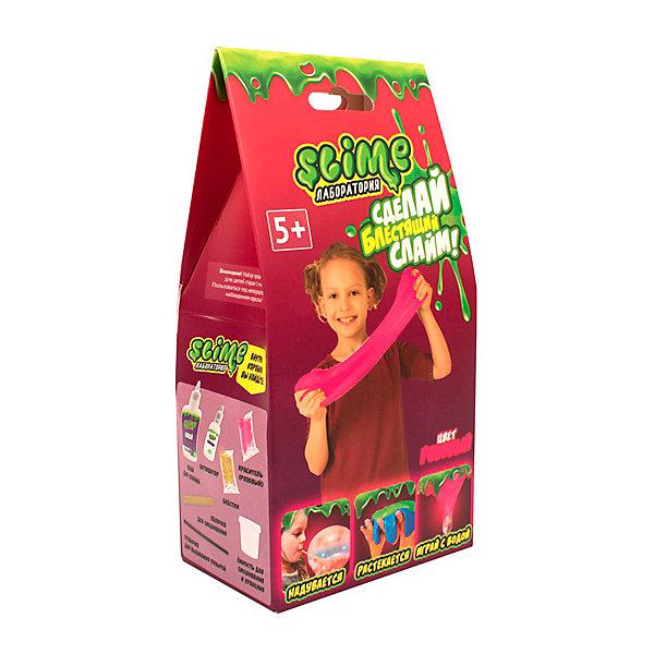 Купить Набор для девочек Slime: Лаборатория, малый, , 100 г, розовый, Россия, Женский