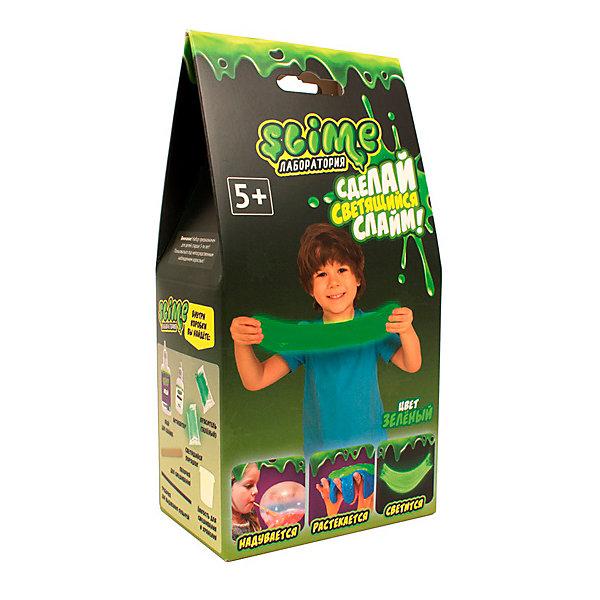 Купить Набор Slime: Лаборатория, малый, , 100 г, зеленый, Россия, Мужской
