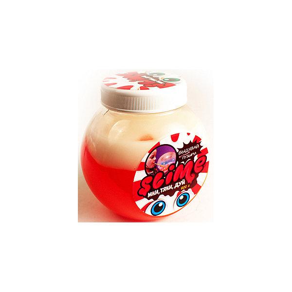 Slime Лизун Mega Mix, розовый и белый, 500 г