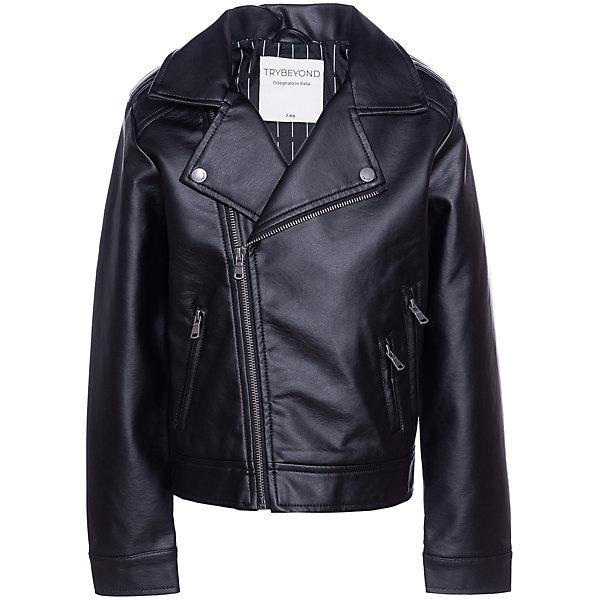 Trybeyond Кожаная куртка Trybeyond