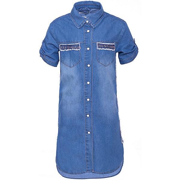 Купить Платье Trybeyond для девочки, Китай, джинсовый, 122, 140, 104, 164, 128, 152, 176, 116, 110, 134, Женский