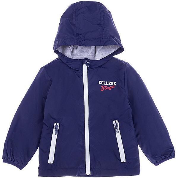 Куртка Birba для мальчикаВерхняя одежда<br>Характеристики товара:<br><br>• состав ткани: 100% полиамид<br>• подкладка: 100% хлопок<br>• сезон: демисезон<br>• застёжка: молния с защитой подбородка <br>• капюшон не отстёгивается<br>• страна бренда: Италия<br><br>Куртка защищает от ветра в прохладную погоду. Легко надевается и обеспечивает свободу движений. Молнии контрастного цвета. Украшена надписью на груди. Рукава не будут перекручиваться при носке.
