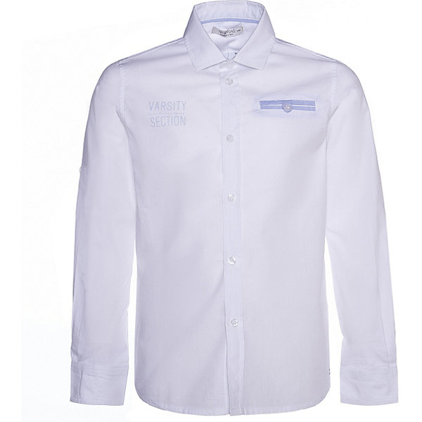 Рубашка Trybeyond для мальчика, Белый