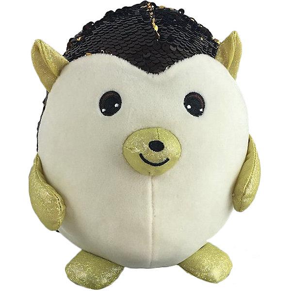 ABtoys Мягкая игрушка Ёж с пайетками, 20 см