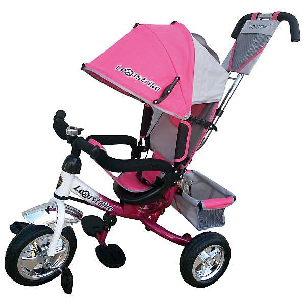 Купить Трехколесный велосипед Lexus Trike Eva 10х8, бело-розовый, Китай, розовый/белый, Унисекс