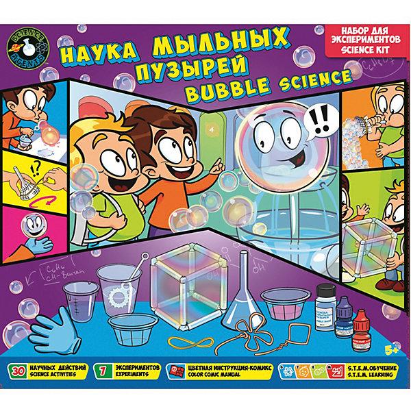 Toys Lab Набор для экспериментов Science agents Наука мыльных пузырей