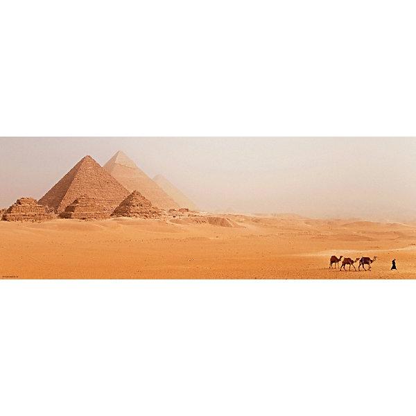 Пазл Heye Пирамиды Египта, 1000 деталей, панорамаПазлы классические<br>Характеристики:<br><br>• автор: Alexander von Humboldt<br>• серия: панорама<br>• количество деталей: 1000<br>• размер собранного пазла: 94,5х32,6 см<br>• страна бренда: Германия<br><br>Уровень сложности пазла подходит для продвинутых сборщиков. Каждый элемент отличается яркостью и высокой детализацией картинки. Готовым пазлом можно украсить интерьер, поместив его в раму. Детали плотно прилегают друг к другу, делая картину более цельной.
