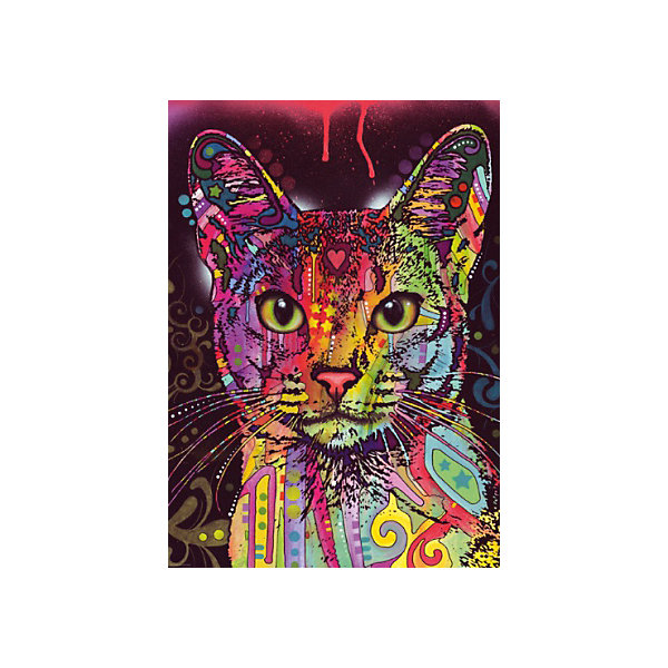 Купить Пазл Heye Абиссинская кошка , 2000 деталей, Германия, Унисекс