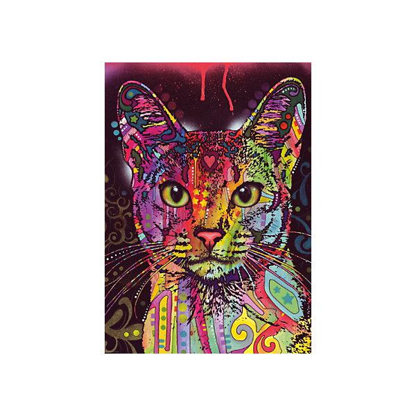 HEYE Пазл Heye Абиссинская кошка, 2000 деталей пазл девушка с золотыми украшениями heye 1000 деталей