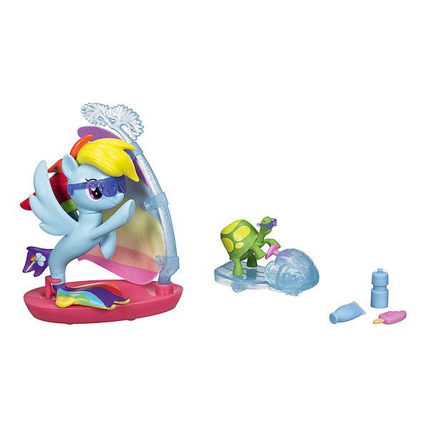 Купить Игровой набор My little Pony Мерцание , Рэйнбоу Дэш, Hasbro, Китай, Женский