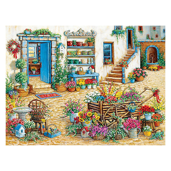 Cobble Hill Пазл Модный цветочный магазин, 275 деталей