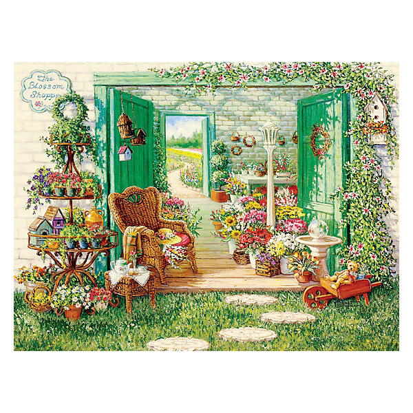 "Cobble Hill Пазл Cobble Hill ""Магазин цветов"", 500 деталей"