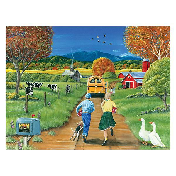 Cobble Hill Пазл Школьный автобус, 400 деталей