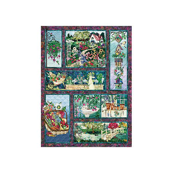 "Cobble Hill Пазл Cobble Hill ""Коллаж – летнее цветение"", 500 деталей"