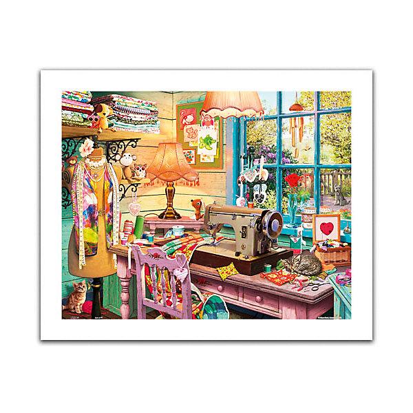 Pintoo Пазл Швейная мастерская, 500 элементов