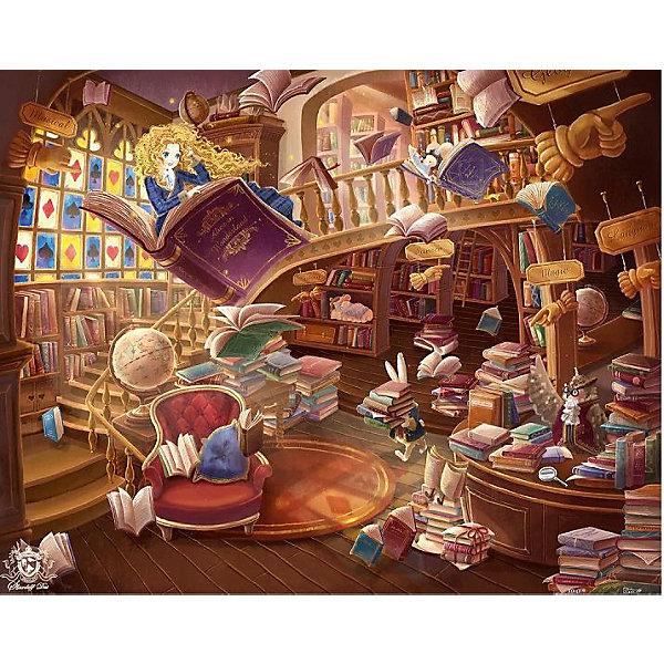 Pintoo Пазл Алиса: Волшебная библиотека, 500 элементов
