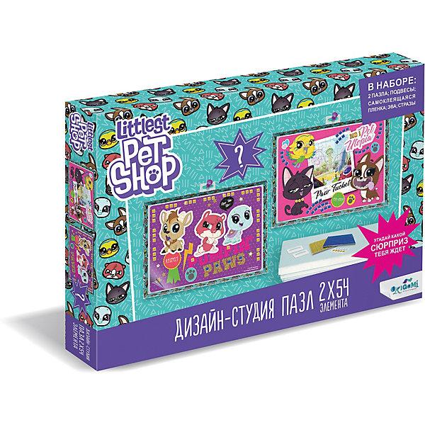 Купить Набор пазлов 2в1 Littlest Pet Shop Дизайн-студия Город зверей, с сюрпризом, Origami, Россия, Женский