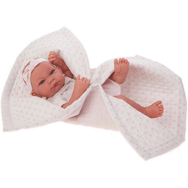 Купить Кукла-младенец Munecas Antonio Juan Эми, 42 см, Испания, розовый, Женский