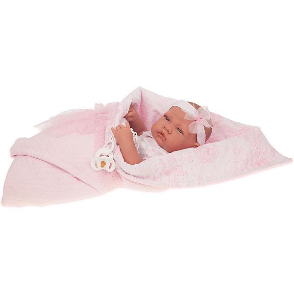 Купить Кукла-младенец Munecas Antonio Juan Мириам, 42 см, Испания, розовый, Женский