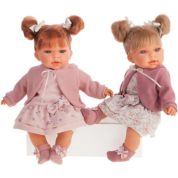 Купить Кукла Munecas Antonio Juan Альма в розовом, озвученная, 37 см, Испания, розовый, Женский