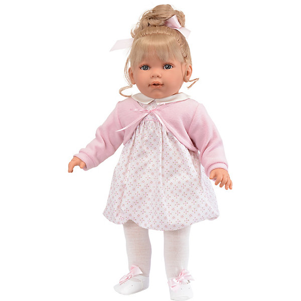 Munecas Antonio Juan Кукла Зои в розовом, 55 см