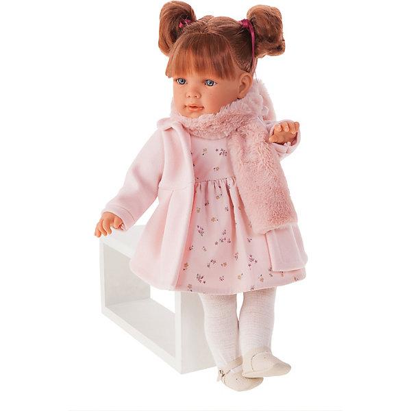 Munecas Antonio Juan Кукла Марианна в розовом, 55 см