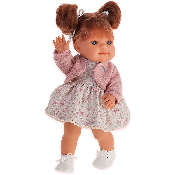 Купить Кукла Munecas Antonio Juan Рафаэлла, 38 см, Испания, розовый, Женский