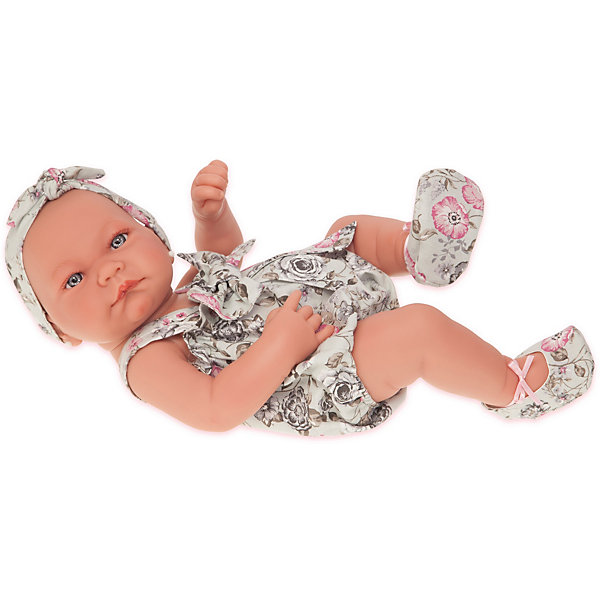 Купить Кукла-младенец Munecas Antonio Juan Мина, 42 см, Испания, белый, Женский