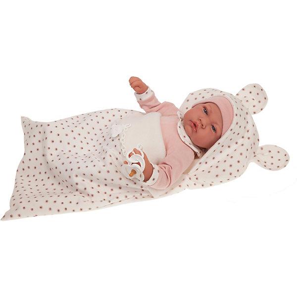 Купить Кукла Munecas Antonio Juan Кристина в конверте, 40 см, Испания, розовый, Женский