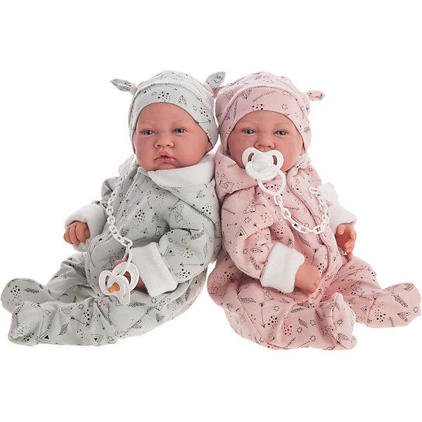Купить Кукла Munecas Antonio Juan Алехандра в розовом, 40 см, Испания, розовый, Женский