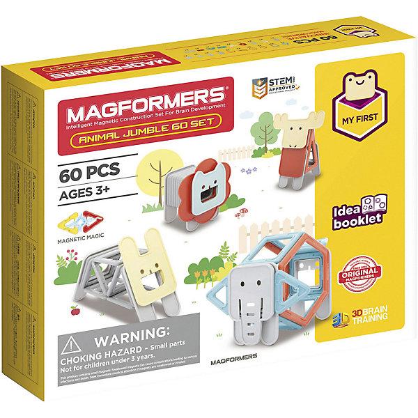 Купить Магнитный конструктор Magformers Jumble 60 Set, Китай, Унисекс
