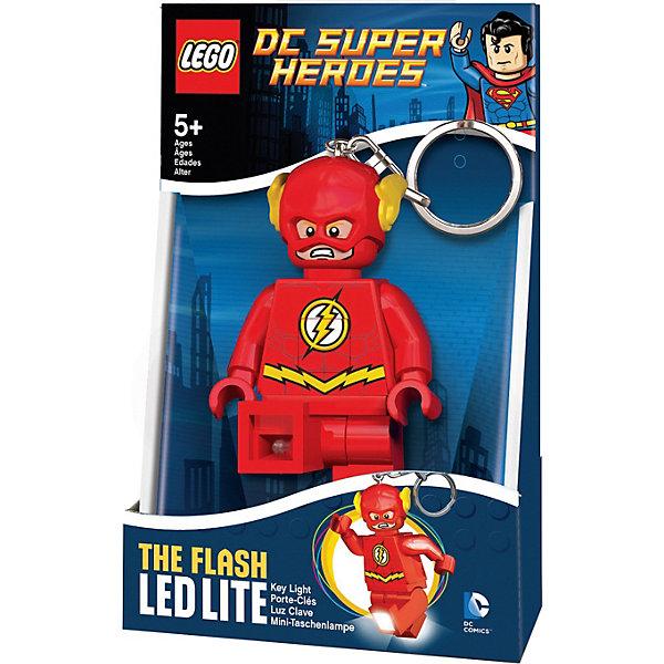 Купить Брелок-фонарик для ключей LEGO Super Heroes Flash, Китай, красный, Мужской