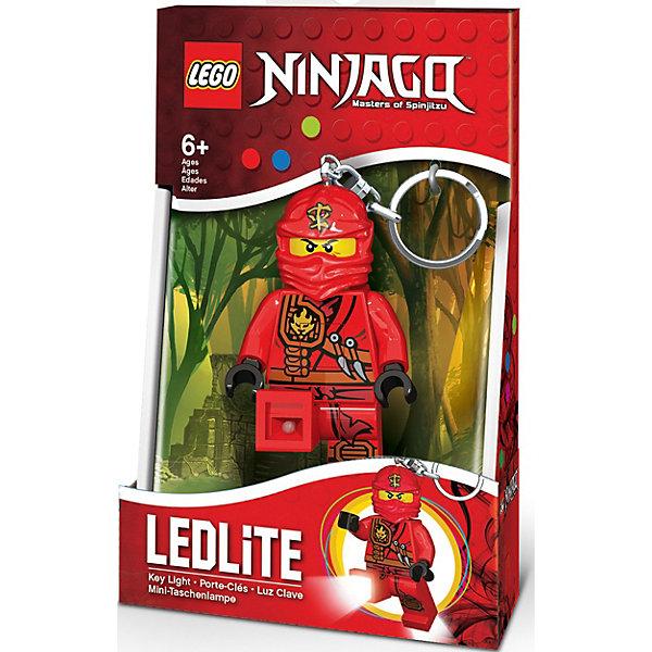 Купить Брелок-фонарик для ключей LEGO Ninjago KAI, Китай, красный, Мужской