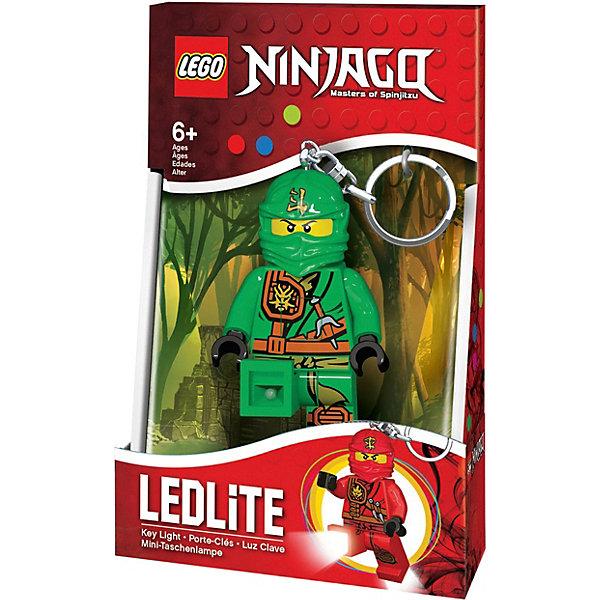 Купить Брелок-фонарик для ключей LEGO Ninjago Lloyd, Китай, зеленый, Мужской