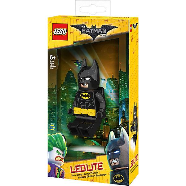 Купить Налобный фонарик LEGO Movie, Batman, Китай, черный джинсовый, Мужской