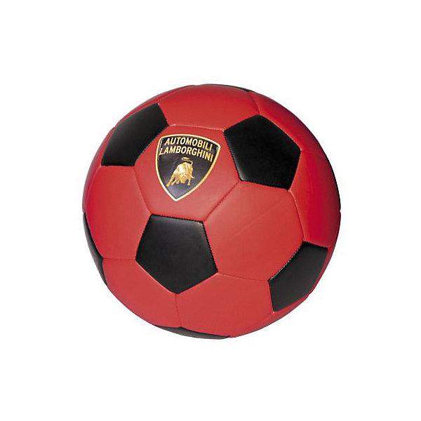 Футбольный мяч Lamborghini, 22 см, красный