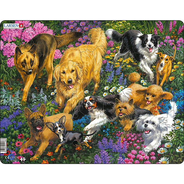 Larsen Пазл Собаки