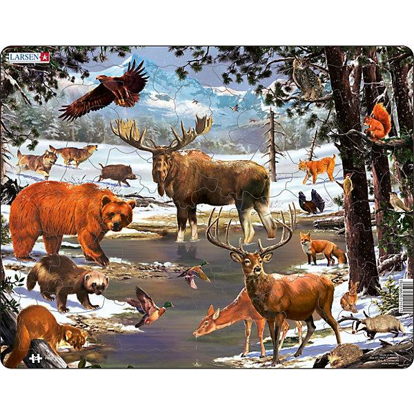 Larsen Пазл Животные Северной Европы
