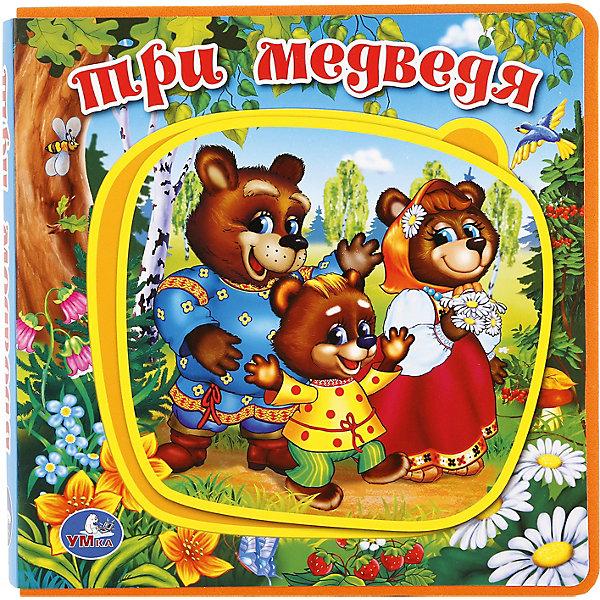Умка Книжка с пазлами Три медведя котятова н и три медведя книжка гармошка