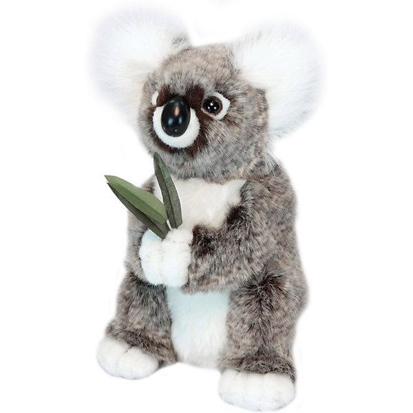 Купить Игрушка Hansa «Коала (мама)», 31 см, Филиппины, серый, Унисекс