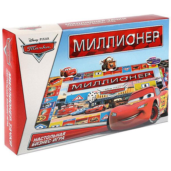 Умка Настольная игра Монополия Миллионер Дисней Тачки
