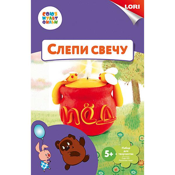 LORI Набор для лепки свечи Lori Союзмультфильм Горшочек мёда